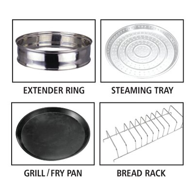 Igenix Universal Accessory Kit for Halogen Multi-Cooker