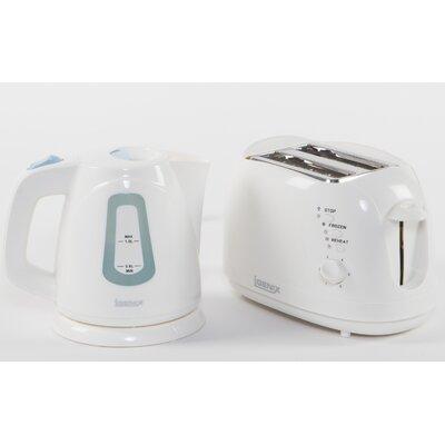 Igenix 2 Slice Toaster and Kettle Breakfast Set