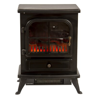 Igenix Oakmen 1.8kW Flame Effect Stove Electric Fireplace