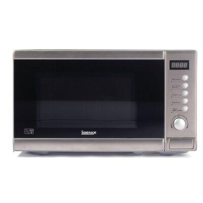 Igenix 20L 800W Countertop Microwave in Stainless Steel