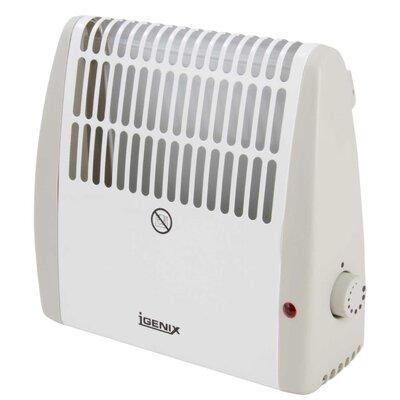 Igenix Frost Watch 500 Watt Wall Insert Electric Convection Heater
