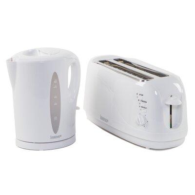 Igenix 4 Slice Toaster and Kettle Breakfast Set