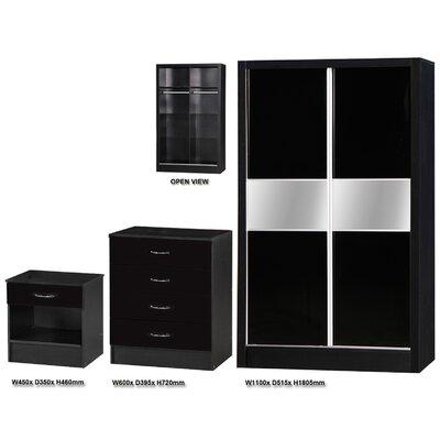 Ark Furniture Wholesale Alpha 3 Piece Bedroom Set
