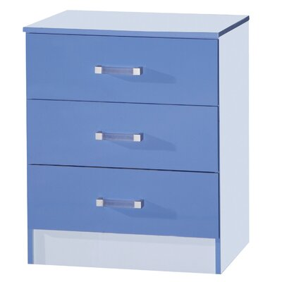 Ark Furniture Wholesale Marina 3 Drawer Chest of Drawers