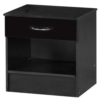 Ark Furniture Wholesale Alpha 1 Drawer Bedside Table
