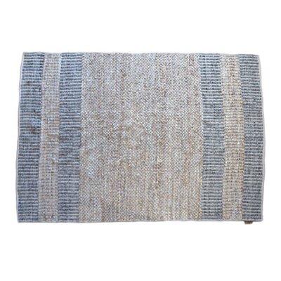 ByTzum Teppich in Beige/Grau