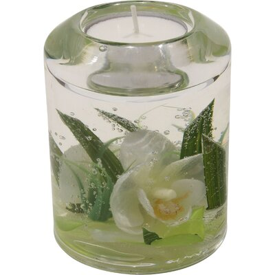 Dreamlight Teelichthalter White Lady aus Glas