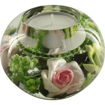 Dreamlight Teelichthalter Bel Vue aus Glas