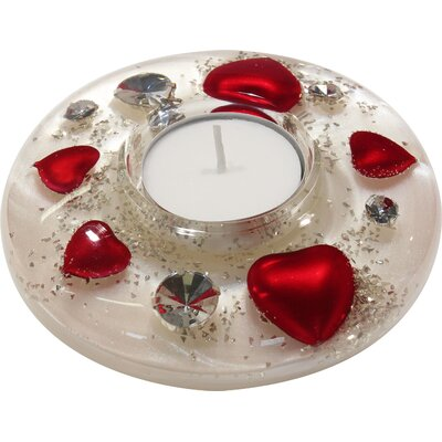 Dreamlight Teelichthalter My Sweetheart aus Glas