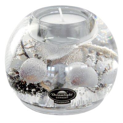 Dreamlight Teelichthalter Natural Beach aus Glas