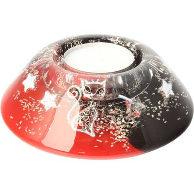 Dreamlight Teelichthalter Mia aus Glas