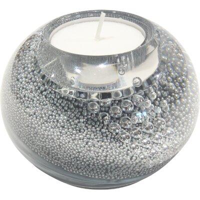 Dreamlight Teelichthalter Space aus Glas