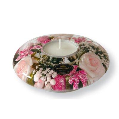 Dreamlight Teelichthalter Little Rose aus Glas