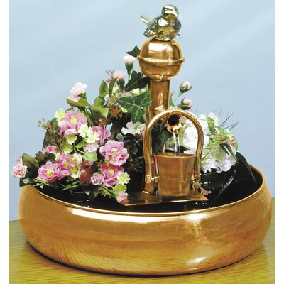 Copper/Brass Pouring Bucket Fountain