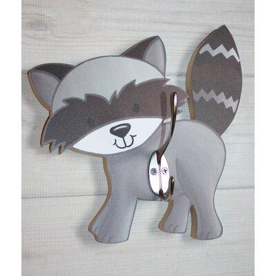 Raccoon Kids Wall Hook