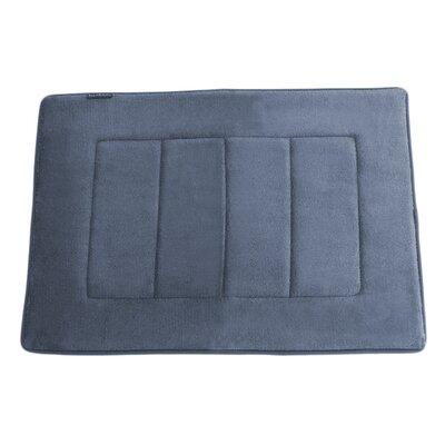Ultra-Soft Memory Foam Bath Mat Color: Slate Gray