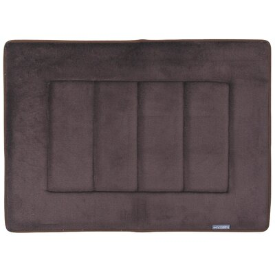 Ultra-Soft Memory Foam Bath Mat Color: Coffee Brown