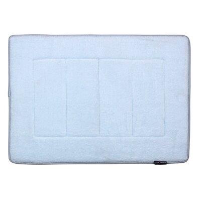 Ultra-Soft Memory Foam Bath Mat Color: Sky Blue