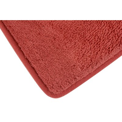 Memory Foam Bath Rug Color: Marsala
