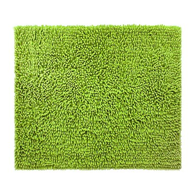 "Chenille Bath Rug Rug Size: 2'4"" x 3', Color: Green Apple"