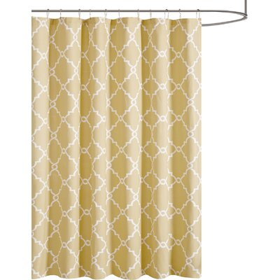 Somerset Shower Curtain Color: Yellow