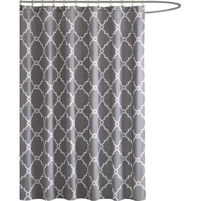 Somerset Shower Curtain Color: Gray
