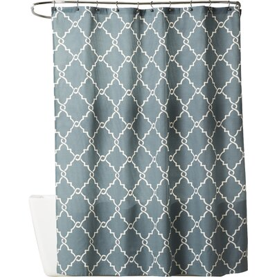 Somerset Shower Curtain Color: Blue