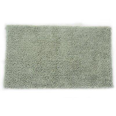 "Eastcotts 2 Piece 100% Cotton Spray Latex Bath Rug Set Color: Light Sage, Size: 30"" H X 20"" W and 40"" H X 24"" W"