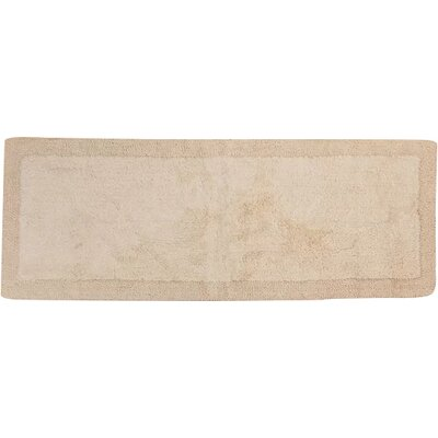 "Golding 100% Cotton Bella Napoli Reversible Bath Rug Color: Ivory, Size: 30"" H X 20"" W"