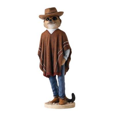 Enesco Magnificent Meerkats Cowboy Figurine