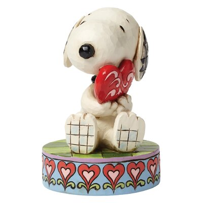 Enesco Peanuts I Love You (Snoopy) Figurine