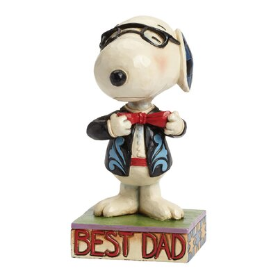 Enesco Peanuts Best Dad (Snoopy) Figurine