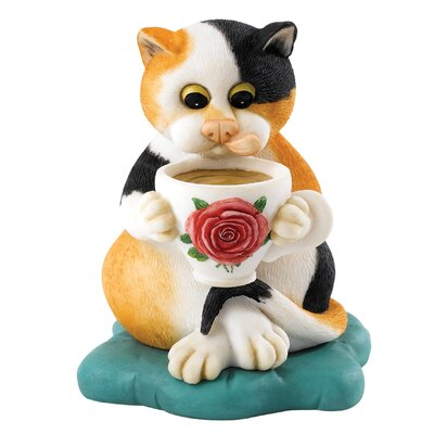 Enesco Comic and Curious Cats Home Figurine