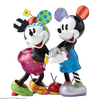 Enesco Disney Britto Mickey and Minnie Mouse Figurine