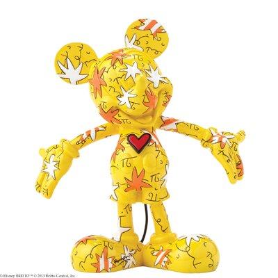 Enesco Disney Britto Mickey Wrapped in Stars Figurine
