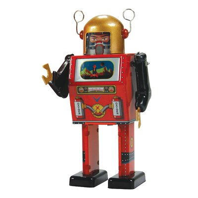 Enesco Saint John TV Spaceman Figurine