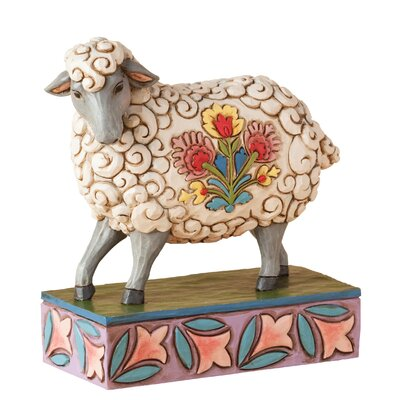 Enesco Heartwood Creek Gentle As A Lamb (Sheep) Figurine