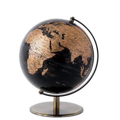 Enesco Black and Copper Globe