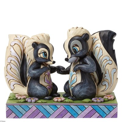 Enesco Disney Traditions Love is in the Air (Flower and Miss Skunk) Figurine