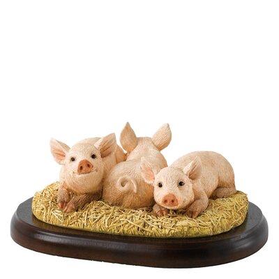 Enesco BFA Studio Three Little Piggies Figurine
