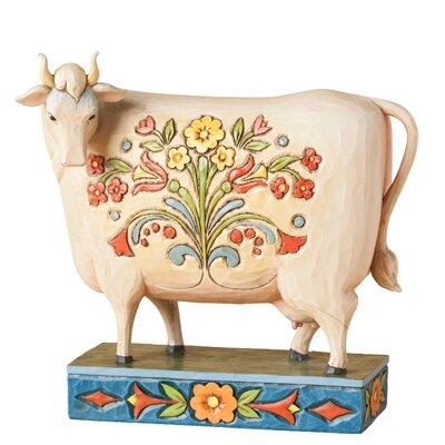 Enesco Heartwood Creek Til The Cows Come Home (Cow) Figurine