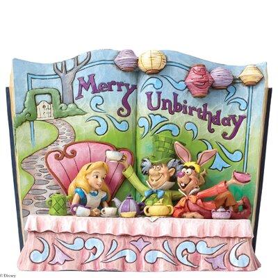 Enesco Disney Traditions Merry Unbirthday (Storybook Alice in Wonderland Tea Party) Figurine
