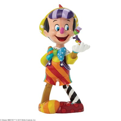Enesco Disney Britto Pinocchio 75th Anniversary Figurine
