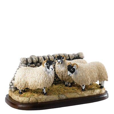 Enesco BFA Studio Swaledale Sheep Figurine