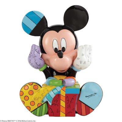 Enesco Disney Britto Mickey Mouse Birthday Figurine