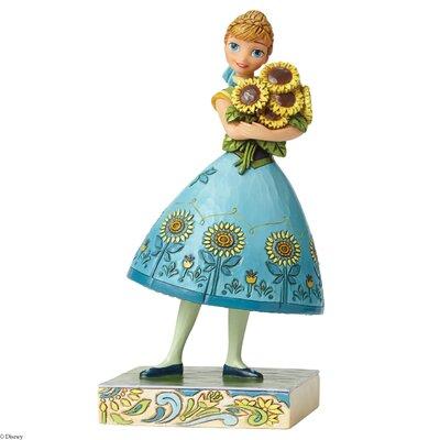Enesco Disney Traditions Spring in Bloom (Frozen Fever Anna) Figurine