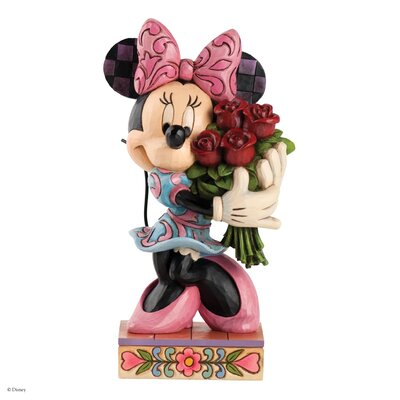 Enesco Disney Traditions Le Vie en Rose (Minnie Mouse with Flowers) Figurine