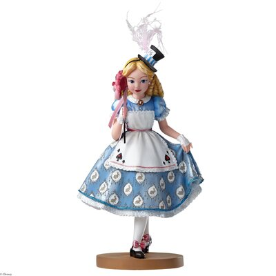 Enesco Disney Showcase Alice in Wonderland Masquerade Figurine