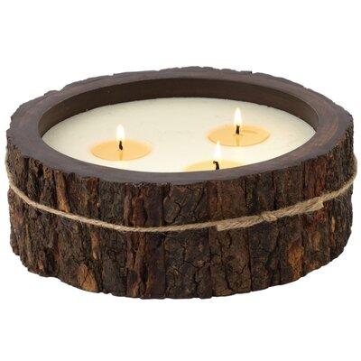 Enesco Himalayan Tobacco Bark Jar Candle