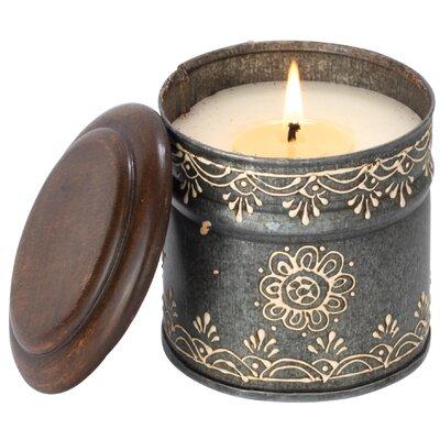 Enesco Himalayan Sunflower Sacred Temple Garden Jar Candle